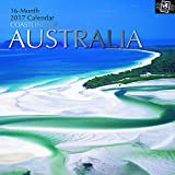 "Beautiful Scenic Photographs -Coastlines of Australia 2017 Monthly Wall Calendar, 12"" x 12"""