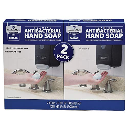 Member's Mark Commercial Foaming Antibacterial Hand Soap (2 pk.) (pack of 6) by Members Mark (Image #1)