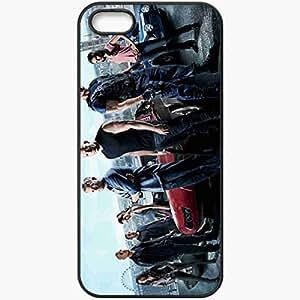 Personalized iPhone 5 5S Cell phone Case/Cover Skin Fast And The Furious 6 Vin Diesel Vin Diesel Paul Walker Paul Walker Film Black by mcsharks