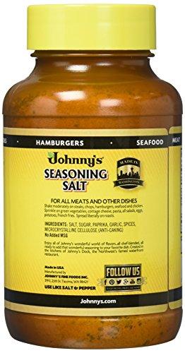 Johnny's Seasoning Salt, 32-Ounce Bottles (Pack of 3) by Johnny's (Image #4)