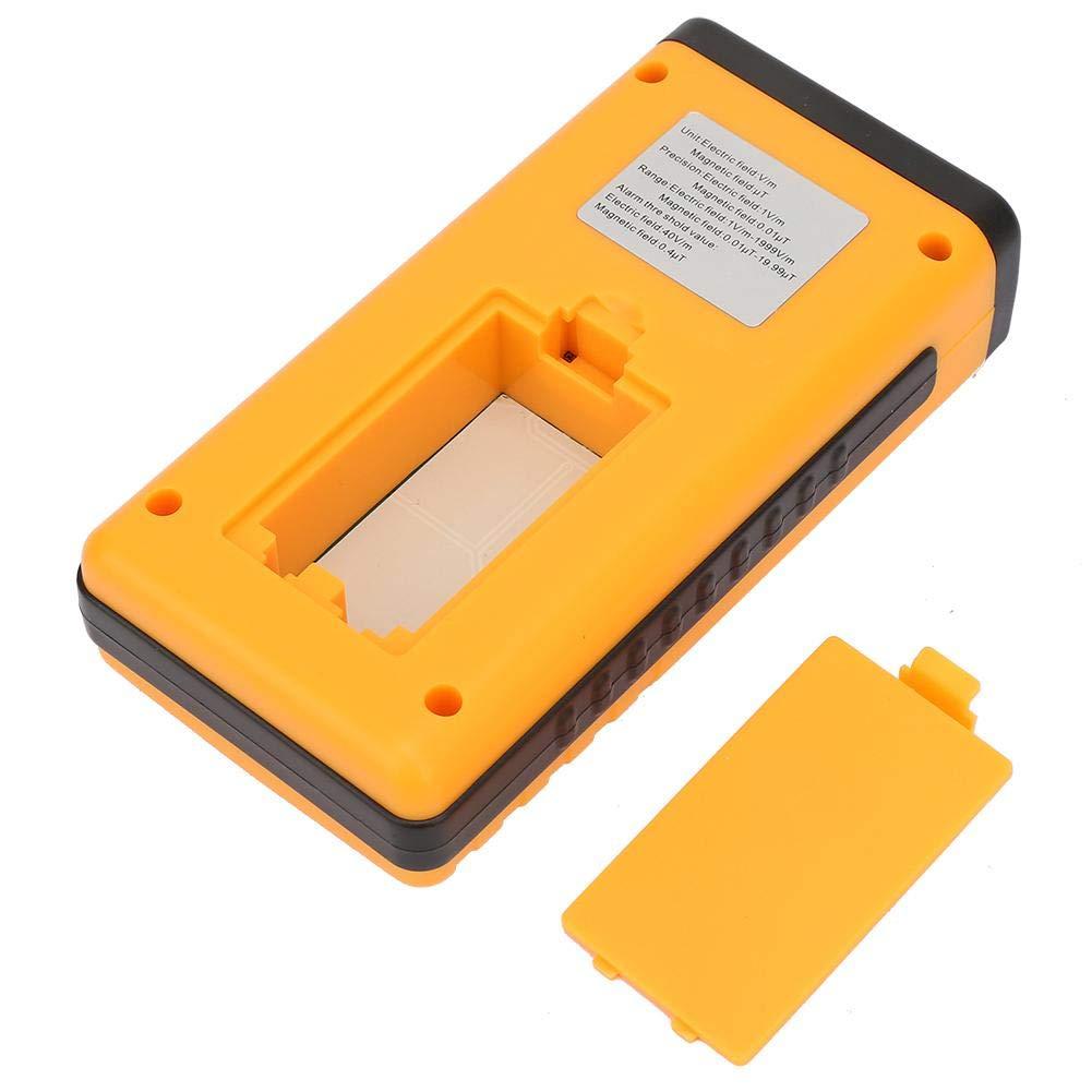 Amazon.com: Medidor de campo eléctrico y magnético de mano ...