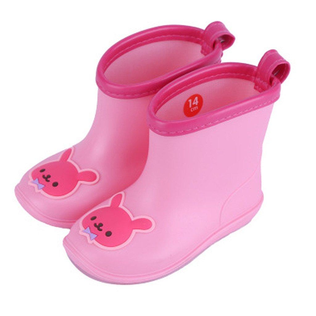 Vine Babys Rain Boots Children Waterproof Shoes for Boys Girls B170421YX181V