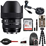 Sigma 14-24mm F2.8 DG HSM Art Lens for Canon with Sigma USB Dock, Memory Card & Bundle (w/ 32GB Travel Kit)