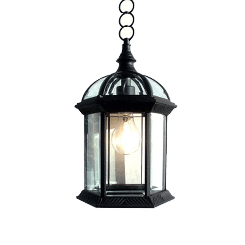 Outdoor Hanging Lighting Etoplighting contemporary collection exterior outdoor pendant etoplighting contemporary collection exterior outdoor pendant hanging lantern with beveled clear glass apl1023 amazon workwithnaturefo