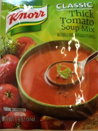 Best Tomato Soup - Knorr Classic Thick Tomato Soup Mix - 55g (Pack of 5)