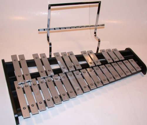 GP Percussion Bell Kit, Glockenspiel, Xylophone, Stand, Bag, Pad by GP Percussion