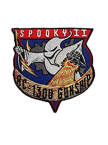 Air Force Special Ops Spooky II AC-130U Gunship Spectre Military Hook Loop Tactics Morale Embroidered -