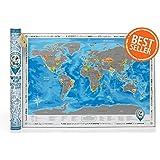 DiscoveryMap On Amazon USA Marketplace Pulse - Scratch world map us manaufacturuer