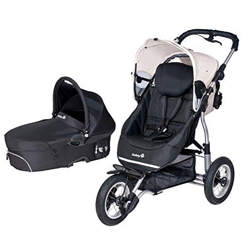 Safety 1st 75708860 Ideal Sportive Kinderwagen-Set und Reisesystem, plain beige