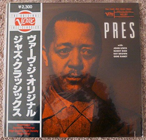 LESTER YOUNG Pres w- Buddy Rich ORIGINAL VERVE JAZZ CLASSICS LP ALBUM Japan SEALED