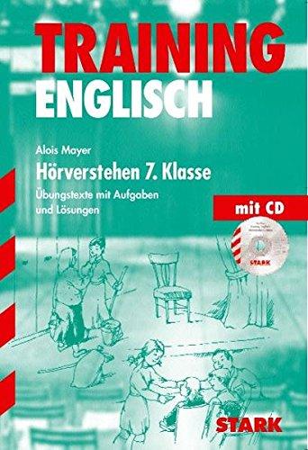 Training Gymnasium - Englisch Hörverstehen 7. Klasse, mit CD