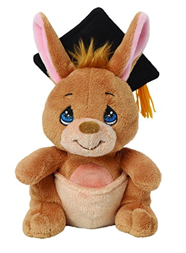 Precious Moments, Kangaroo with Gift Card Holder, Stuffed Animal, 154501