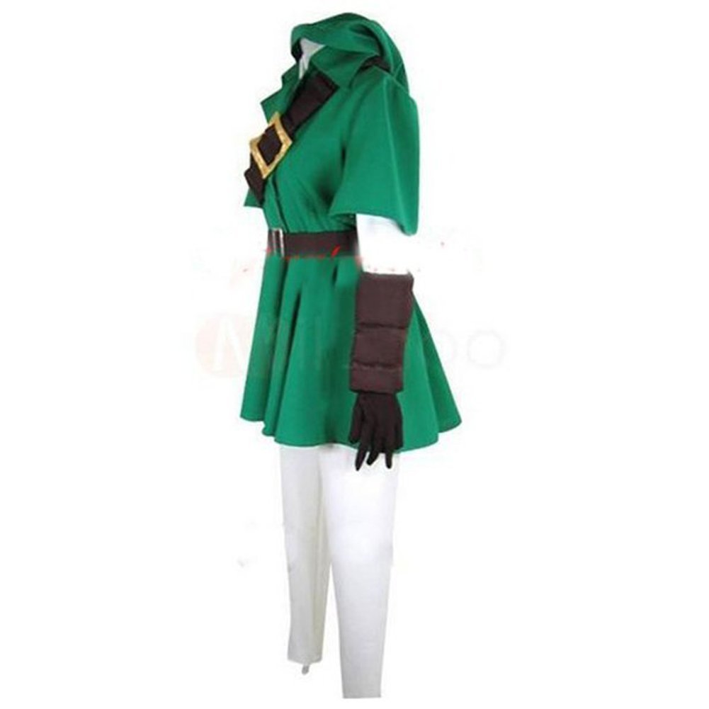 Amazon.com: The Legend of Zelda Link Cosplay Costume: Clothing