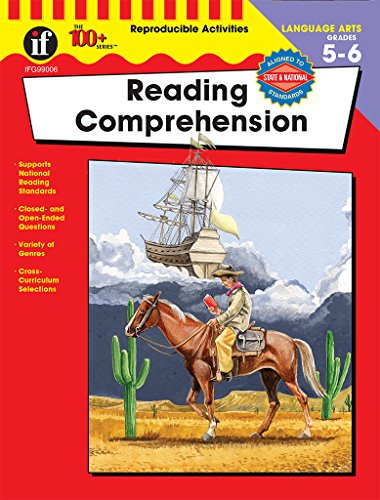 Reading Comprehension, Grades 5 - 6 (The 100+ SeriesTM) ()