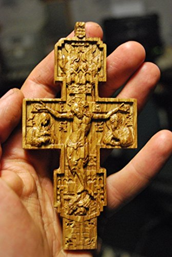 Oak Wood Crucifix (4