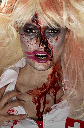 Zombie Make Up For Women (Zombie Nurse Make-up Kit)