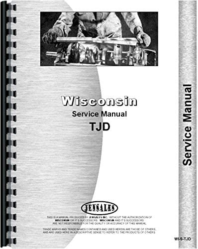 Wisconsin TJD Engine Parts Catalog Service Repair Manual