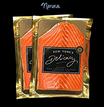 New York's Delicacy Pre-Sliced Natural Smoked Salmon
