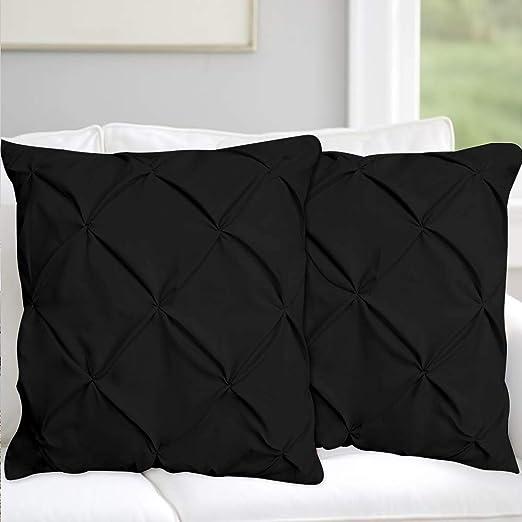 European Pillow Shams Set of 2PCs Silver Euro Pillow Sham SOLID 500TC 100/%COTTON
