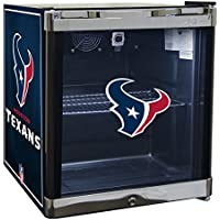 Glaros Officially Licensed NFL Beverage Center / Refrigerator - Houston Texans