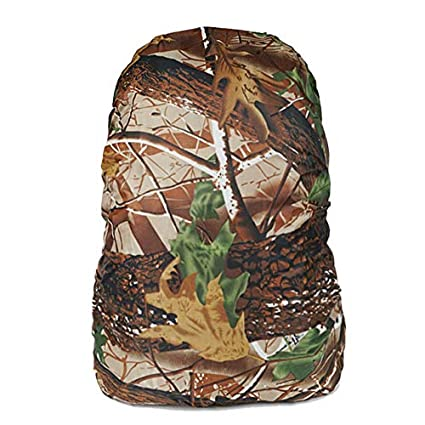 Amazon.com: CUSHY NylonBackpack Camouflage RainCover 30-40L Protable Pay for Two pcs get 3pcs Waterproof Mochila tactica for Travel Bag:Green Leaves, ...