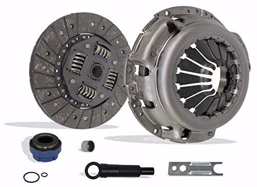 Clutch Kit Works With Mazda Pickup B2300 B2500 B3000 Ford Ranger Tremor Troy Splash SE 1995-2011 2.3L L4 GAS DOHC 2.5L L4 GAS SOHC 3.0L V6 GAS OHV 3.0L V6 FLEX OHV Naturally Aspirated