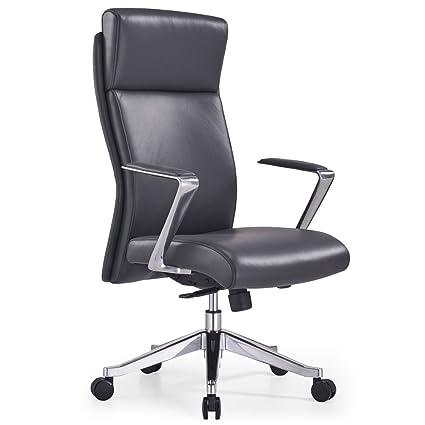 Amazon Com Adjustable Ergonomic Draper Leather Executive Chair With
