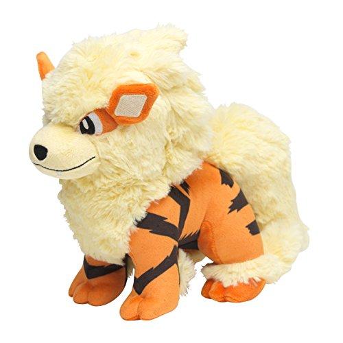Pokemon Center Original (8-Inch) Poke Plush Stuffed Toy Arcanine -