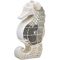 DecoBREEZE Table Fan Single-Speed Electric Circulating Fan, Seahorse Figurine Fan
