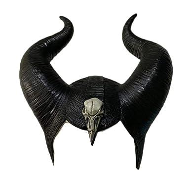 Amazon Com Xcostume Maleficent Headpiece Evil Black Queen