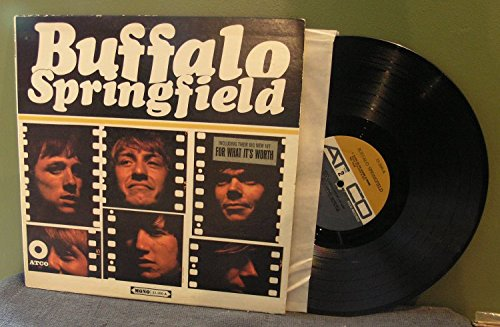 Buffalo Springfield LP (Original Mono) (Mustard/Grey Labels) (Mustard Buffalo)
