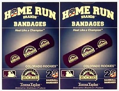Colorado Rockies Bandages x 2 box (total 40 pcs)