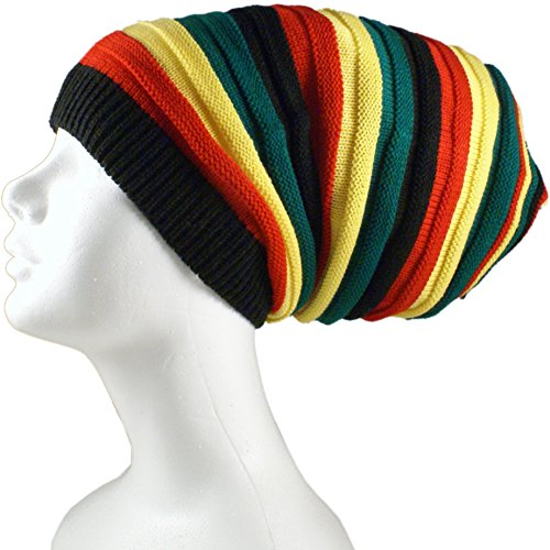 Shoe String King SSK Rasta Knit Tam Hat