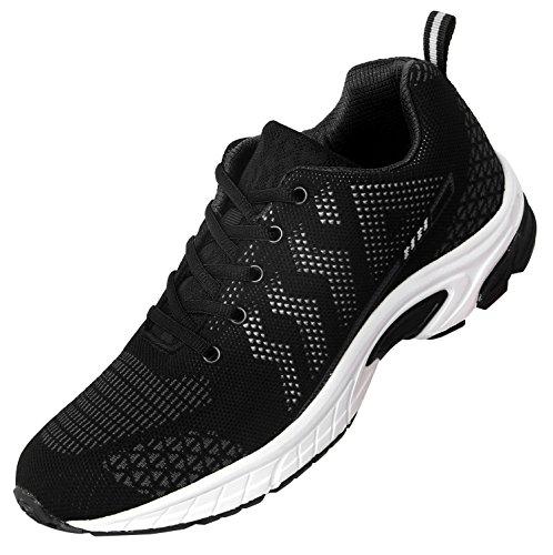 iLoveSIA+Men%27s+Leisure+Running+Fashion+Sneakers+Walking+Shoes+White+US+8