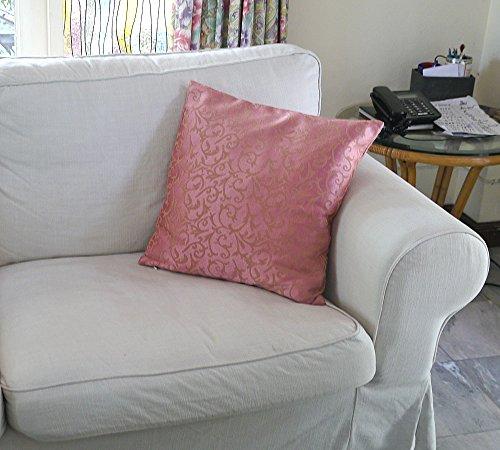 CushionArt Interra 18x18in Throw Pillow Cushion Cover - Pink - Set of 2