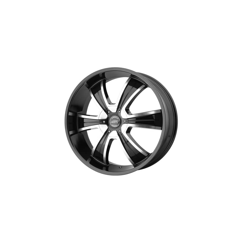 American Racing AR894 18x8 Black Wheel / Rim 6x135 & 6x5.5 with a 15mm Offset and a 106.25 Hub Bore. Partnumber AR89488067315