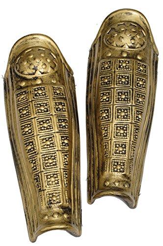 22000 Gold Leg Armor Roman Armor Pair 2 Pieces Greek