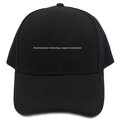 Support Hashtag Technician Gorra Béisbol De Teeburon Information Technology zqwTpEg