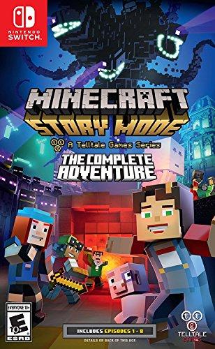 Minecraft: Story Mode - The Complete Adventure - Nintendo Switch (Minecraft Story Mode Ps4 The Complete Adventure)