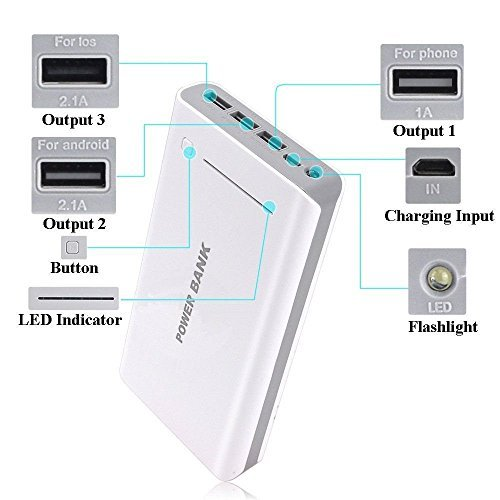 50000mAh lightweight 3USB External Battery USB electrica Bank Charger for mobile or lightweight Phone