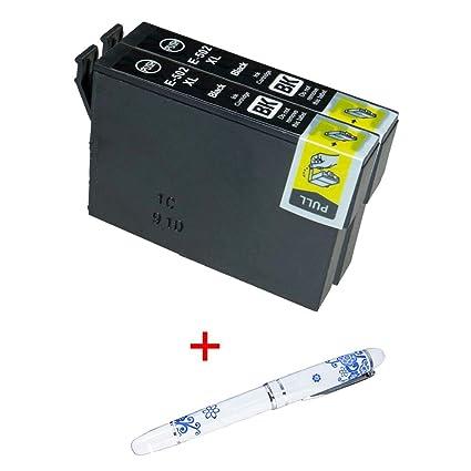 Cartuchos de Tinta 502XL 502 XL para Impresora Epson XP-5100 ...