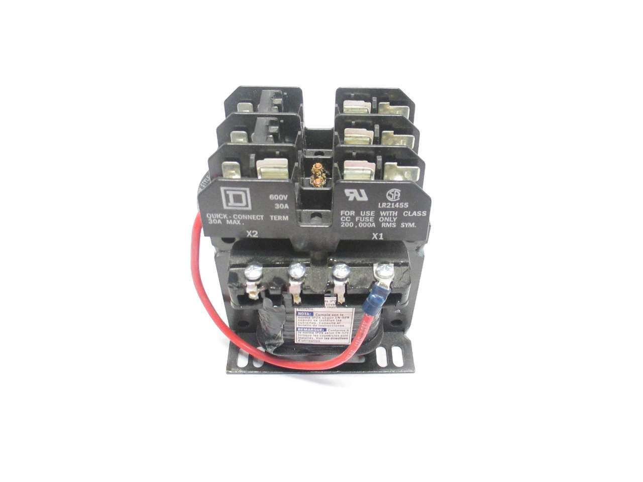 NEW SQUARE D 9070TF100D1 480V-AC 120V-AC 100VA TRANSFORMER D503552