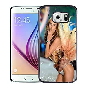 New Personalized Custom Designed For Samsung Galaxy S6 Phone Case For Alessandra Ambrosio At Victorias Secret 2013 Fashion Show Phone Case Cover