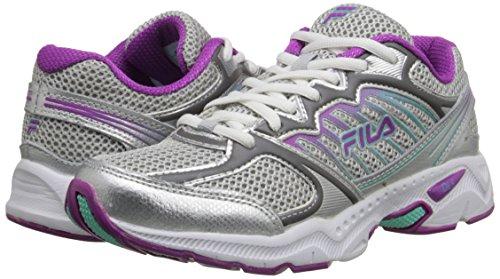 Fila Tempo Mujer US 8.5 Plata Zapato para Correr