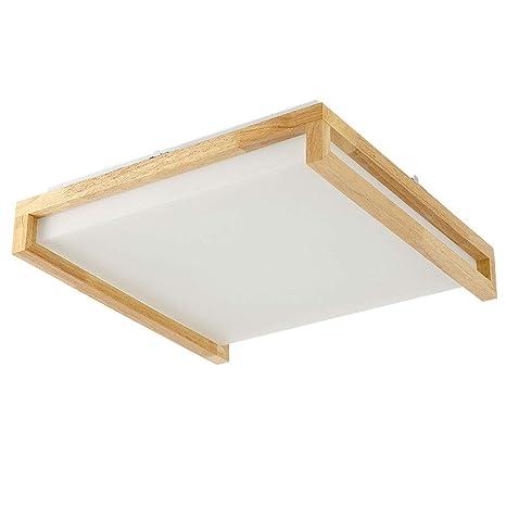 Wandun Luz de techo, Nordic LED lámpara de techo dormitorio ...