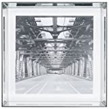 Varaluz Casa Square 24 x 24 Pictured Frame, Mirrored