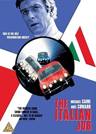 The Italian Job Dvd 1969 By Michael Caine Amazonde Kevin