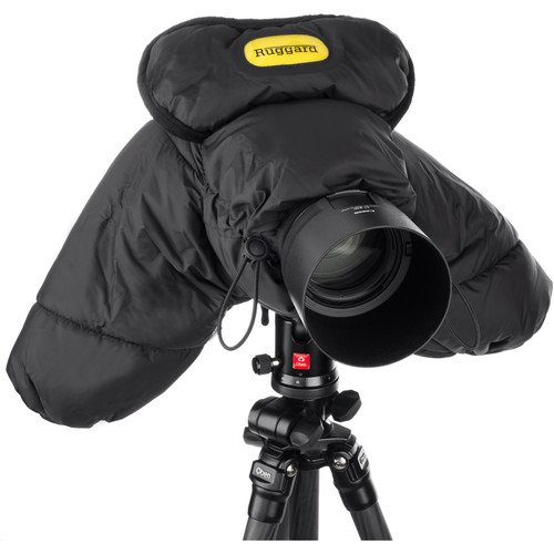 Ruggard DSLR Parka Cold and Rain Protector for Cameras and Camcorders (Black)(2 Pack) by Ruggard