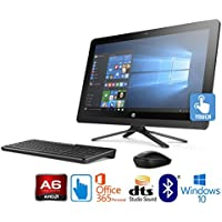 "HP 22-b048, AMD Quad-Core, 8GB, 21.5"" Full HD Touchscreen AIO with Office 365 (Certified Refurbished)"