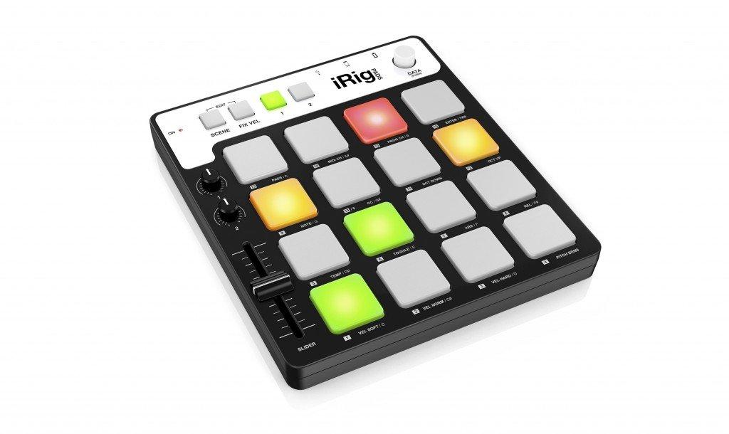 IK Multimedia iRig Pads Portable Universal MIDI Groove Controller ...